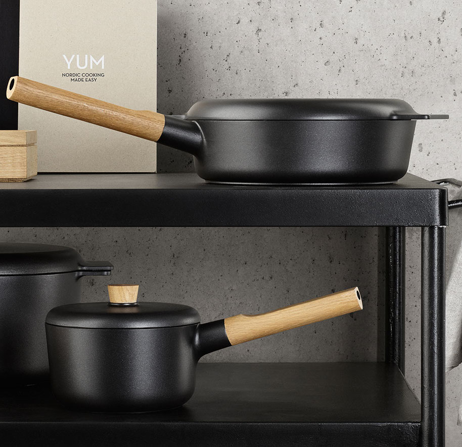 Nordic kitchen cookware