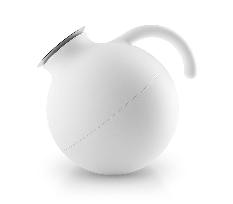 Globe Vacuum jug Nordic white