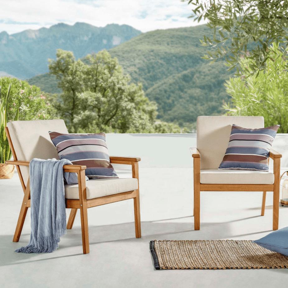 Vero Outdoor Armchair Set